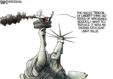 cartoon_obamaextinguisheslibertytorch